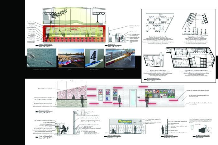 Philadelphia University Interior Design Student Work Capstone